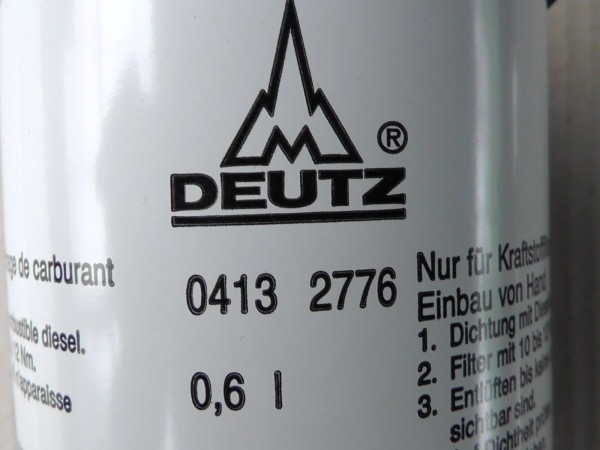 0413 2776 Kraftstoffwechselfilter Kraftstofffilter Dieselfilter