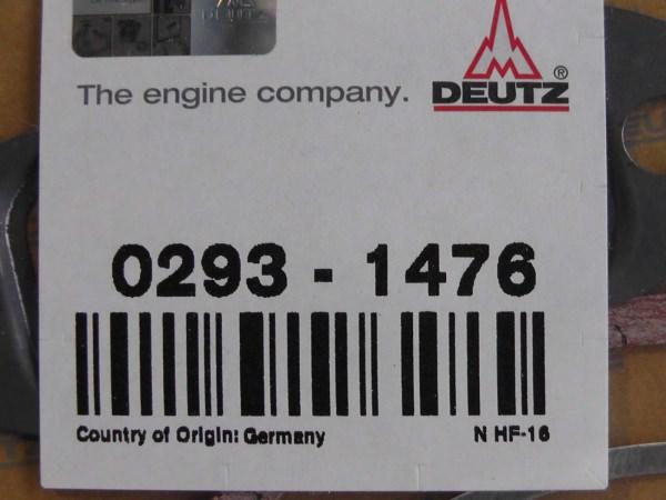 0293 1476 Dichtungssatz