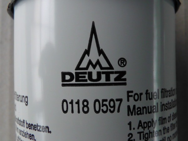 0118 0597 Kraftstoffwechselfilter Kraftstofffilter Dieselfilter