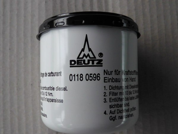 0118 0596 Kraftstoffwechselfilter Kraftstofffilter Dieselfilter