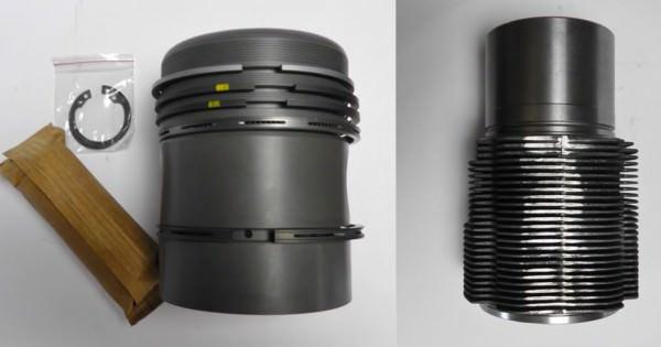 Deutz FL712 Zylinder & Kolben im Set