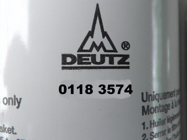 0118 3574 Wechselfilter Ölfilter