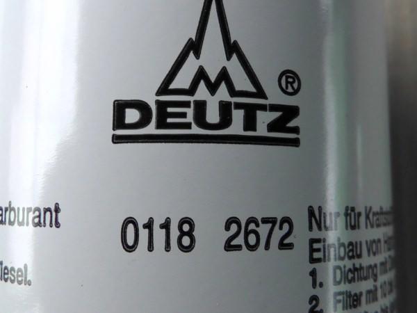 0118 2672 Kraftstoffwechselfilter Kraftstofffilter Dieselfilter